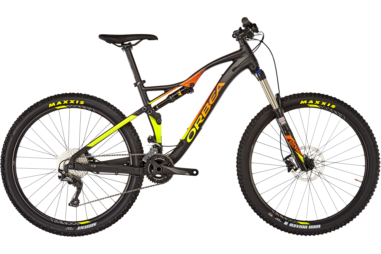 ORBEA Occam AM H50 MTB Fullsuspension orange/sort | Find cykeltilbehør på nettet | Bikester.dk
